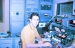 Mike as a young pup, on the air at 'OC  the Busy Bee