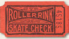 roller rink ticket