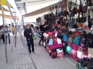 The Gypsy Market in Loule was quite a unique and fun experience.