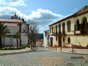 Lovely streets in Silves, north of Albufeira