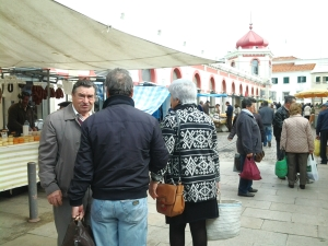 The Saturday market in Loule is great sport and full of great produce.