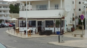 Small cafe near Oura.  Excellent food