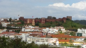 The Moor Castle sits on the high ground in Silves